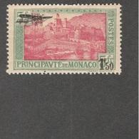 MONACO1933:Yvert PA1mh* Cat.Value30Euros - Poste Aérienne