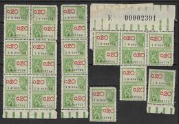 Ensemble De Timbres Fiscaux 0,20 Cts Années 30 ? (lot 1517) - Revenue Stamps