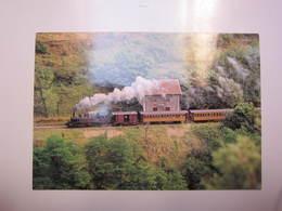 Carte Postale Train Chemin De Fer Du Vivarais Ligne Tournon-Lamastre - Trains