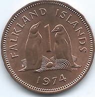 Falkland Islands - 1974 - Elizabeth II - 1 Penny - KM2 - Falkland