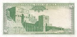SY  P. 94c 5 P 1970 UNC - Siria