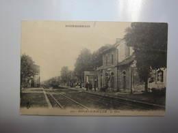 Carte Postale Gare De BESSAY SUR ALLIER - Gares - Sans Trains