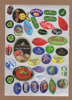 AC - FRUIT LABELS Fruit Label - STICKERS LOT #26 - Frutas Y Legumbres