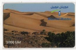 MAURITANIE PREPAYEE MAURITEL 3000 UM - Mauritanië
