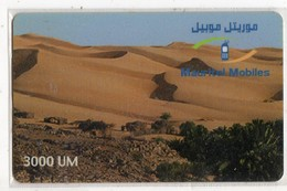 MAURITANIE PREPAYEE MAURITEL 3000 UM - Mauritania