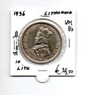 LITOUWEN 10 LITU 1936 - Lithuania
