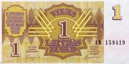 Latvia 1 Rublis, P-35 (1992) - UNC - Lettonie