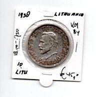 LITOUWEN 10 LITU 1938 - Lituanie