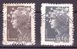 France 2008 - Oblitéré - Marianne - Michel Nr. 4454-4455 (fra1511) - Francia