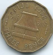 Fiji - George VI - 1952 - 3 Pence - KM18 - Fiji