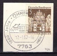 Kartenstueck, Stettin, SoSt Oehningen, 1967 (93133) - Affrancature Meccaniche Rosse (EMA)