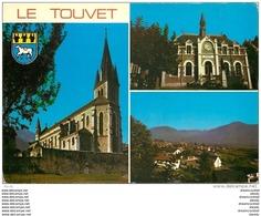 Photo Cpsm Cpm 38 LE TOUVET. Eglise Et Mairie 1983 - France