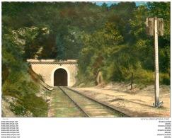 Photo Cpsm Cpm 41 MONTOIRE-SUR-LE-LOIR. Tunnel De Saint-Rimay - Montoire-sur-le-Loir