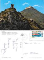 Cassino. Rocca Janula E Abbazia.  Viaggiata 1971 - Italie