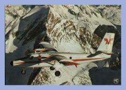 CPM Avion - De Havilland Twin Otter - 294. Bi-turbopropulseur - Air Alpes - Aviation à Décollage Et Atterrissage Courts - 1946-....: Era Moderna