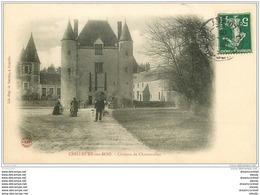 45 CHILLEURS-AUX-BOIS. Château Chamerolles  Animé 1907 - France