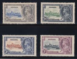 NIGERIA 1935 SILVER JUBILEE   SG 30/33   MNH / MLH   CV £29 - Nigeria (...-1960)