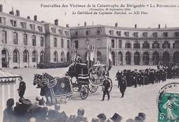 D78  VERSAILLES  Funérailles Des Victimes  Catastrophe Du Dirigeable La République Le Corbillard Du Capitaine Marchal - Versailles