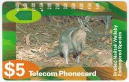 AUSTRALIA A-779 Optical Telecom - Animal, Wallaby - Used - Australië
