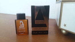 ACHAT IMMEDIAT;;;;;; MINIATURE AZZARO POUR HOMME 7 ML LOTION APRES-RASAGE - Miniaturas Modernas (desde 1961)