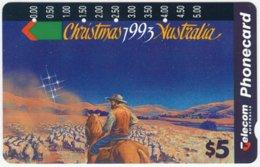 AUSTRALIA A-970 Optical Telecom - Occasion, Christmas - Used - Australië