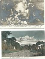 Aalst Belgium Mexico 2 Postcards Baron Bethune  Auguste Van Steenberghe Emigré - Mexiko