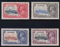 ST. VINCENT 1935 SILVER JUBILEE   SG 142/45   MLH  CV £11 - St.Vincent (...-1979)