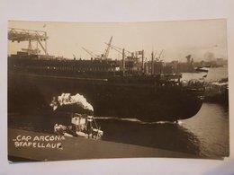 Ancienne Carte Photo. Le Navire. Bateau. - Bateaux