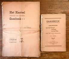 GAESBEEK - GAASBEEK - VINCX - Kasteel - Kerk - Dorp - 1925 & 1926 => Zie Inhoudsopgave - Lennik