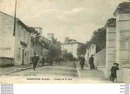 WW 13 BARBENTANE. Avenue De La Gare 1917 - France