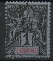 Diégo-Suarez (1893) N 38 (o) - Used Stamps