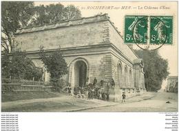 17 ROCHEFORT SUR MER. Animation Au Château D'Eau 1919 - Rochefort