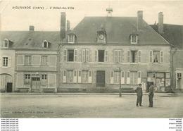 Ww LOT 5 CPA REGIONS FRANCE. Aigurande (pli Coin), Alba (plissures), Lamalou-les-Bains, Bernières Et Juan-les-Pins - Cartes Postales