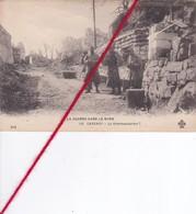 CP 62 -  CARENCY  -  LA GUERRE DANS LE NORD - La Kommandatur - France