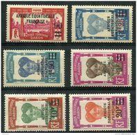 Gabon (1926) N 110 à 115 * (charniere) - Ongebruikt