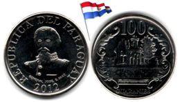 Paraguay - 100 Guaranies 2012 (UNC) - Paraguay