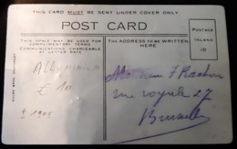 1905 Carte En Aluminium Royal Exchange Manchester - Autres