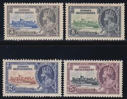 STRAITS SETTLEMENTS  1935 SILVER JUBILEE   SG 256/59   MLH  CV £22 - Singapore (...-1959)