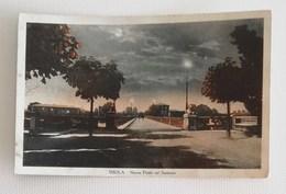 Cartolina Illustrata Imola-Nuovo Ponte Sul Santerno Per Coniale Di Firenzuola Molinaccio 1938 - Imola