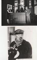 2 Photos De Michel SIMON, 1979 - 005 - Famous People