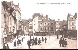 RENNES. LA PLACE TOUSSAINT . RUE DU LYCEE - Rennes