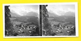 Vues Stéréos WENGEN Et La Jungfrau - Fotos Estereoscópicas
