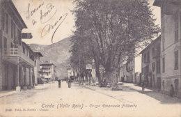 Tenda (06) - Valle Roia - Corso Emannuele Filiberto - Francia