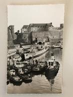 BREST - Vue Sur Le Chateau L'arsenal La Prefecture Maritime - 9x14cm - Brest