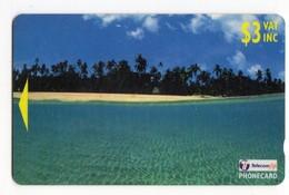FIDJI TELECARTE Ref MVCARDS FIJ-135 SUN DRENCHED CRYSTAL 3$ CN 26FLB Date 1998 - Fiji