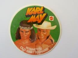 Autocollant Sticker Mattel Karl May Winnetou Old Shatterhand Cow-boy Indien Vintage Big Jim - Autres