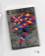 Pin' S  Pays, Doré  Sport  Foot - Ball  EURO  92,  Championnat D'Europe De Football  En  SUÈDE - Fútbol