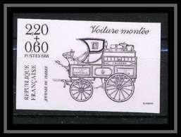 France N°2525 Journée Du Timbre 1988 Voiture Montée Non Dentelé ** MNH (Imperforate) - Non Dentellati