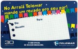 BRASIL L-744 Magnetic Telemar - Used - Brésil