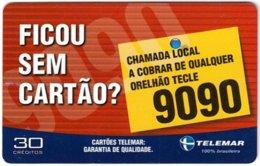 BRASIL L-775 Magnetic Telemar - Used - Brésil